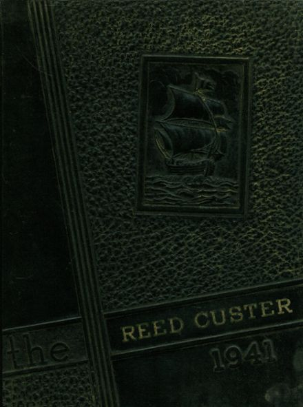 1941 Reed-Custer High School Yearbook Cover