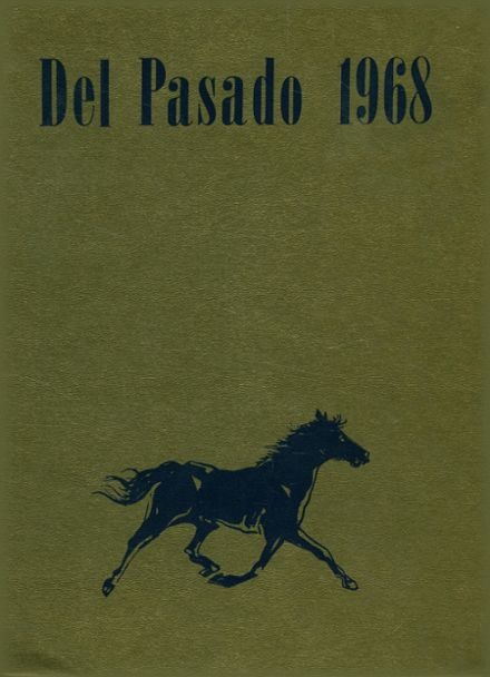 1968 Grant Union High School Yearbook Cover