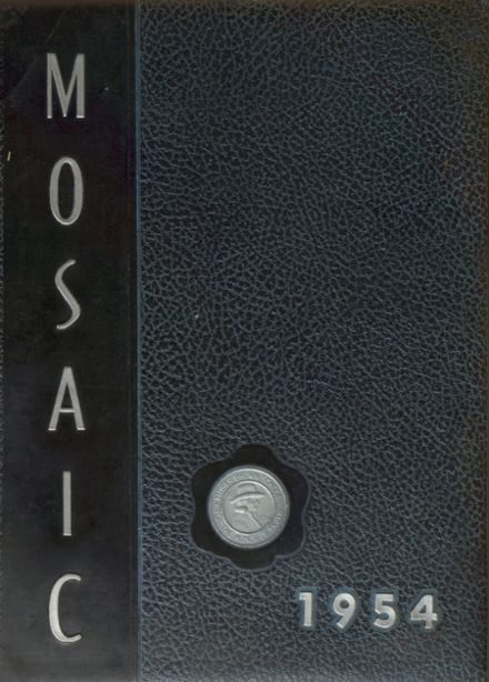 1954 Moses Brown School Yearbook Cover
