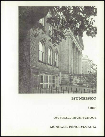 1966 Munhall High School Yearbook Page 5