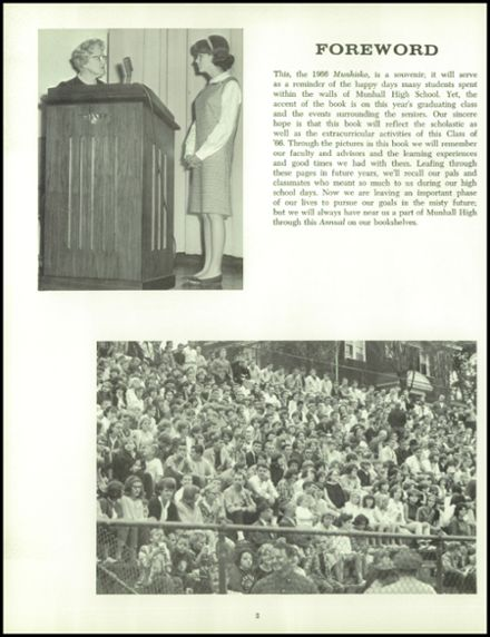 1966 Munhall High School Yearbook Page 6
