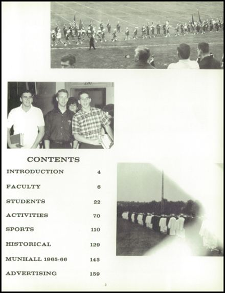 1966 Munhall High School Yearbook Page 7