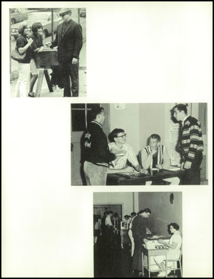 1966 Munhall High School Yearbook Page 8