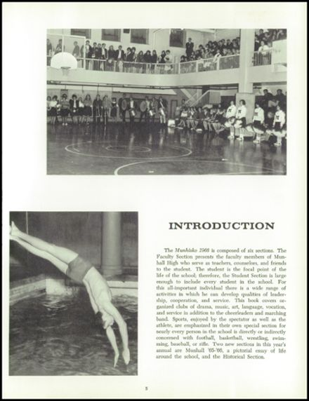1966 Munhall High School Yearbook Page 9