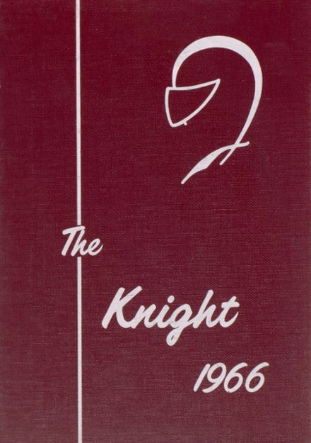 1966 Addison High School Yearbook Cover
