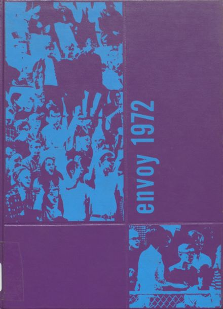 1972 L'Anse High School Yearbook Cover