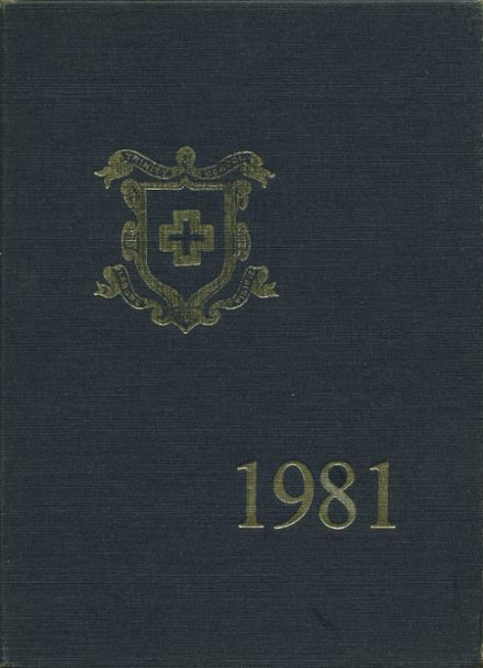1981 Trinity School Yearbook Cover