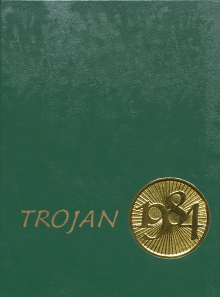 1984 Alleghany High School Yearbook Cover