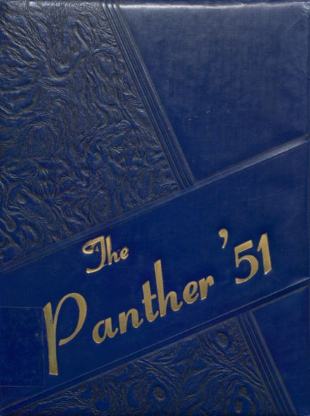 1951 Jal High School Yearbook Cover