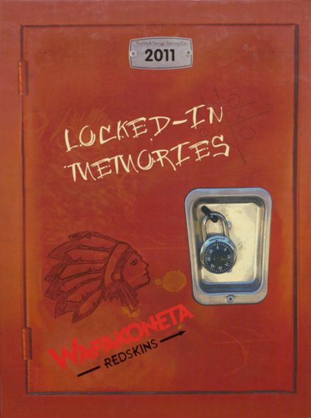 2011 Wapakoneta High School Yearbook Cover