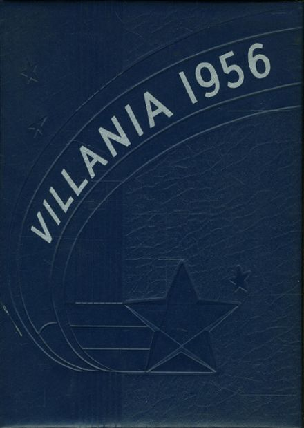 1956 Villard High School Yearbook Cover