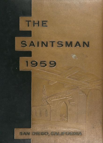 1959 St. Augustine High School Yearbook Cover