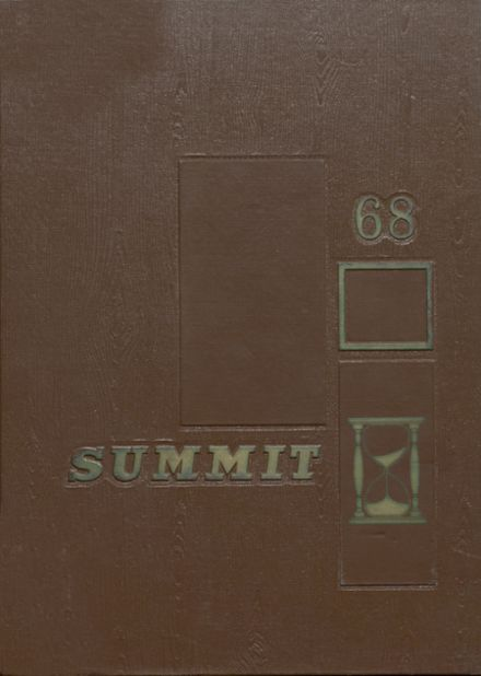 1968 Chester High School Yearbook Cover