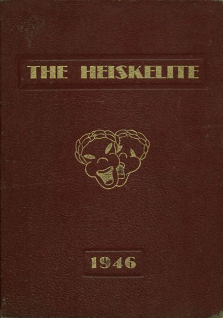 1946 Hagerstown High School Yearbook Cover