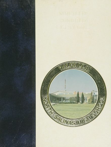 1981 North Salinas High School Yearbook Cover