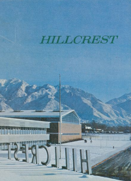 1967 Hillcrest High School Yearbook Cover