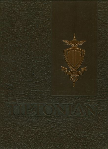 1970 Tipton High School Yearbook Cover