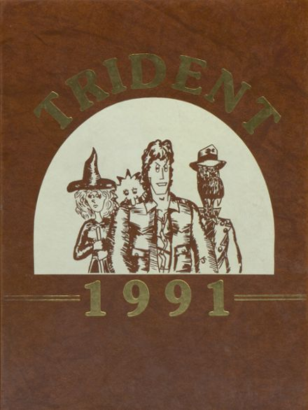 1991 Brewer High School Yearbook Cover