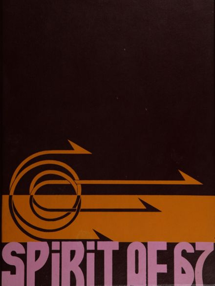 1967 Manchester High School Yearbook Cover