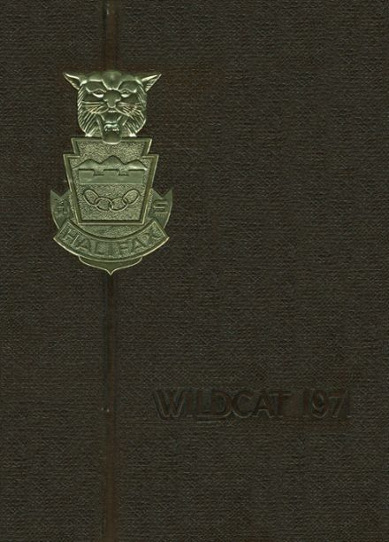 1971 Halifax Area High School Yearbook Cover