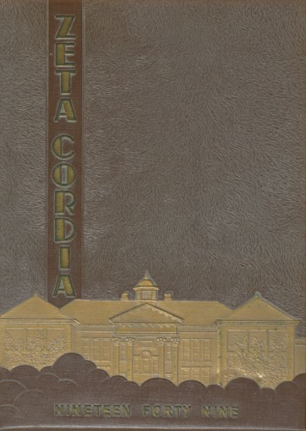 1949 Bryan High School Yearbook Cover