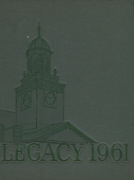 1961 McDonogh High School Yearbook Cover
