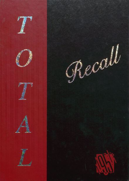 1995 Brodhead High School Yearbook Cover
