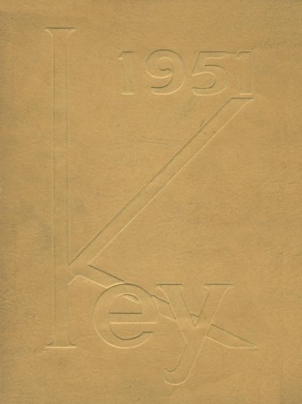 1951 Evanston Township High School Yearbook Cover