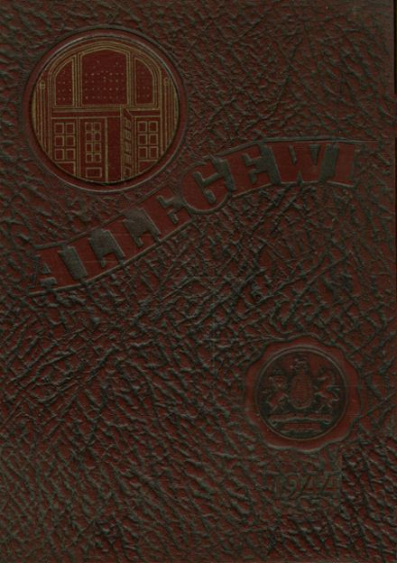 1944 Allegany High School Yearbook Cover