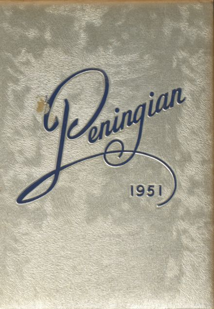 1951 Port Chester High School Yearbook Cover