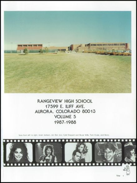 1988 Rangeview High School Yearbook Page 5