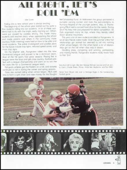 1988 Rangeview High School Yearbook Page 7