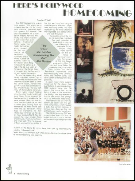1988 Rangeview High School Yearbook Page 8