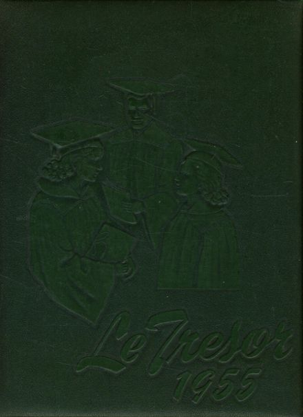 1955 Danville High School Yearbook Cover