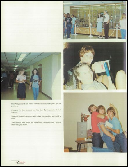 1983 Plainview High School Yearbook Page 8