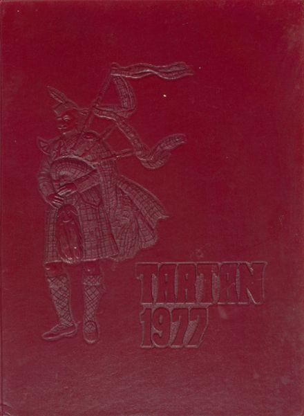 1977 Riverview High School Yearbook Cover