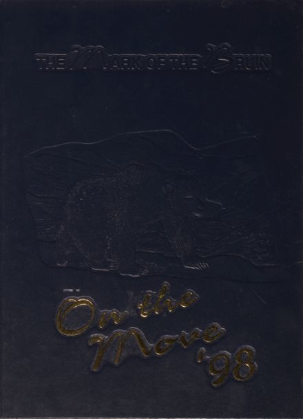 1998 Brentwood High School Yearbook Cover