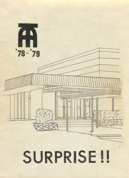 1979 Takoma Academy Yearbook Cover