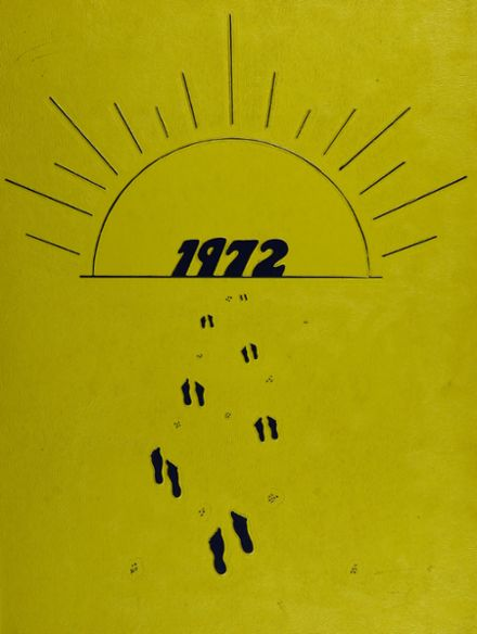 1972 Forest Park High School 406 Yearbook Cover