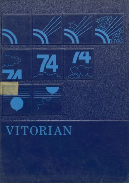 1974 V.I.T. High School Yearbook Cover