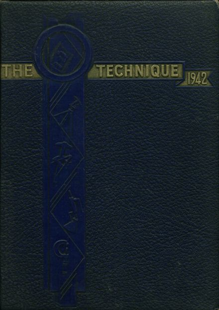 1942 Tech High School Yearbook Cover