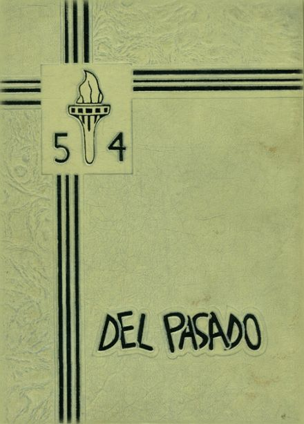 1954 Grant Union High School Yearbook Cover