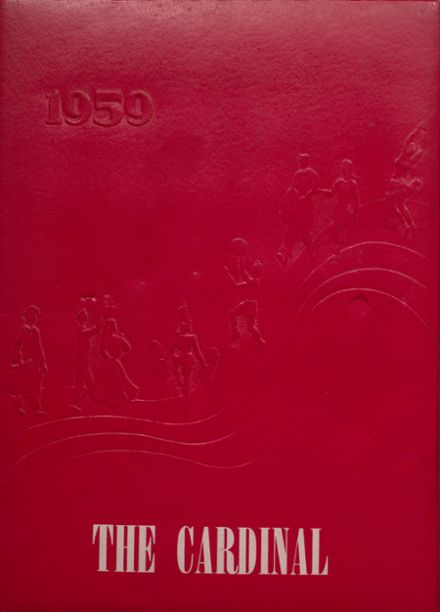 1959 Taylor County High School Yearbook Cover