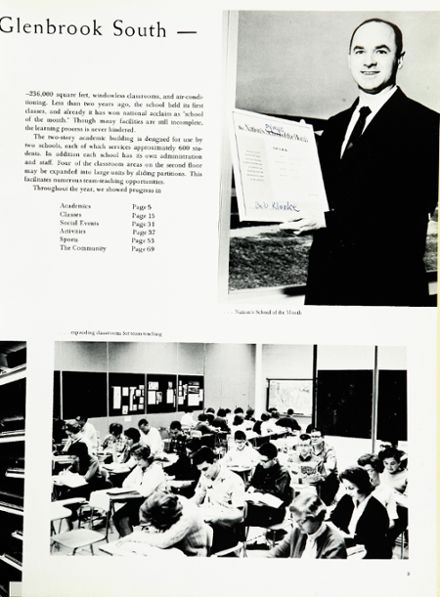1964 Glenbrook South High School Yearbook Page 7