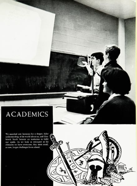1964 Glenbrook South High School Yearbook Page 9