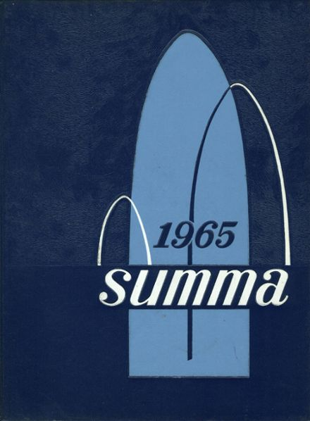 1965 Academy of Our Lady Yearbook Cover