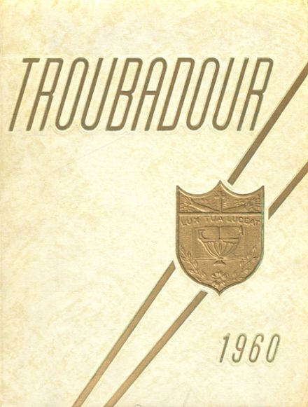 1960 Catholic High School of Baltimore Yearbook Cover