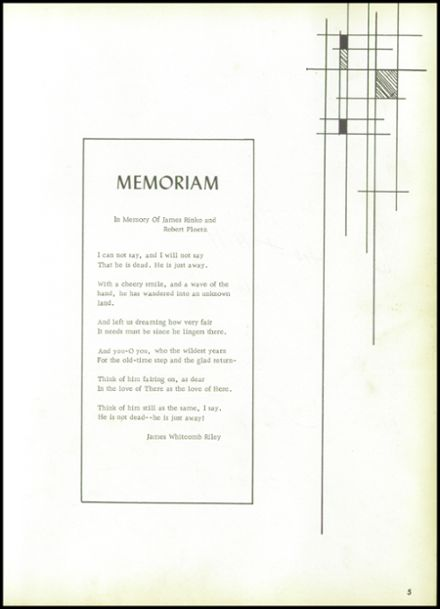 1962 Ellicottville High School Yearbook Page 9