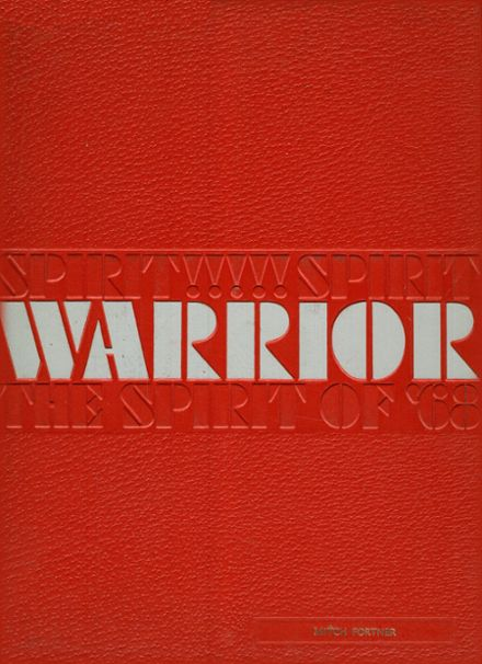 1968 East Bay High School Yearbook Cover