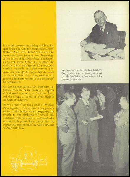 1949 William Penn High School Yearbook Page 9
